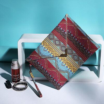 Women Fashion Envelope Handbag Message Ladies Clutch Purse Tote Evening Bag