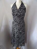 Dorothy Perkins Womens Black/Sleeveless/Summer/Holiday/Dress Size UK 12/EUR 40