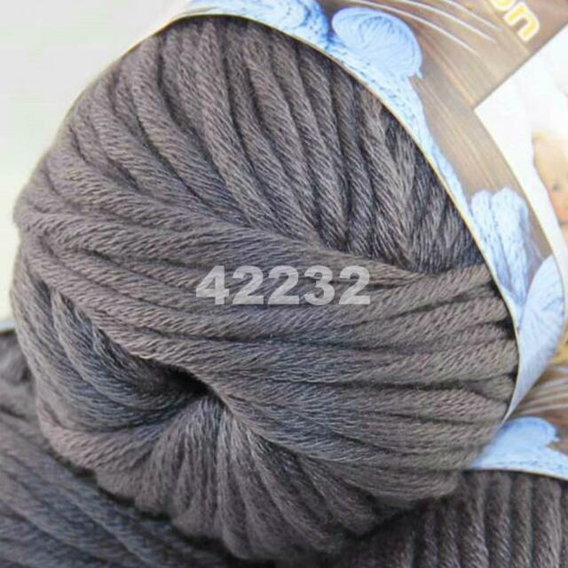 SALE 1 Ball X 50g Special Thick Chunky Worsted 100% Cotton HAND Knitting Yarn 32