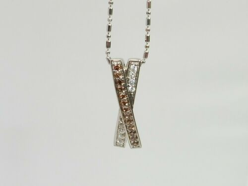 Details about  /Ladies 925 Sterling Solid Silver Brown Citrine /& White Sapphire Pendant