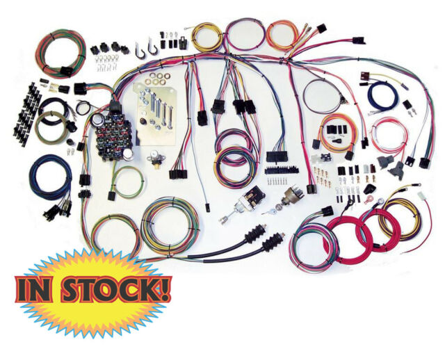 american autowire 500560 truck wiring harness for 60-66 chevy for sale  online | ebay  ebay