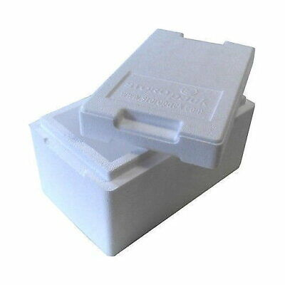 Isolierbox Con Coperchio 4,7 L 330 X 200 X 185 Mm Styroporbox Frigo Portatile Thermobox-