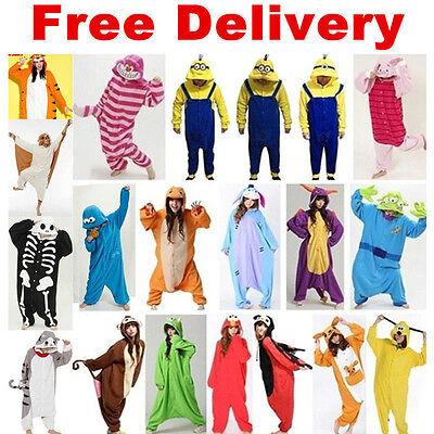 HOT Unisex Adult/Child Pajamas Kigurumi Cosplay Costume Animal Onesie1 Sleepwear