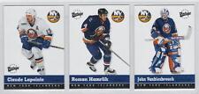 2000-01 UD Vintage New York Islanders 13-card Hockey Team Set John Vanbiesbrouck