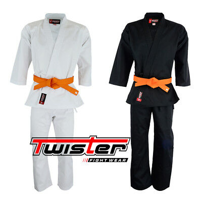 Twister Student Middleweight  Karate Uniform //GI with free White Belt 8.5oz