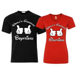 Greatest Boyfriend Girlfriend Couple Matching Shirts Love Vacay
