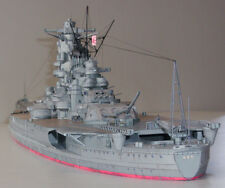 1:250 Scale WW2 Japanese Yamato Battleship DIY Paper Model Kit 104cm=41? Long
