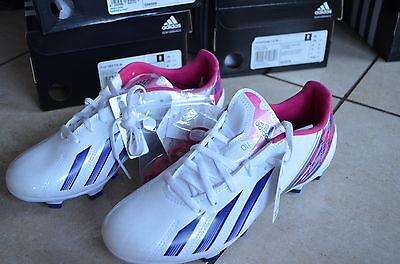 Adidas neue Fußballschuhe F10 Women weiß/pink Größe 38