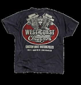 West Coast Choppers T-Shirt MODEL PANHEAD NEW