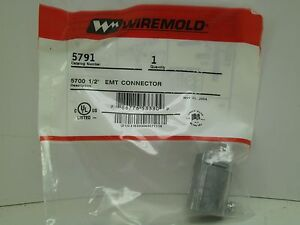 BRAND NEW IN PACKAGING! WIREMOLD 5791 EMT CONNECTOR PH FREE ...
