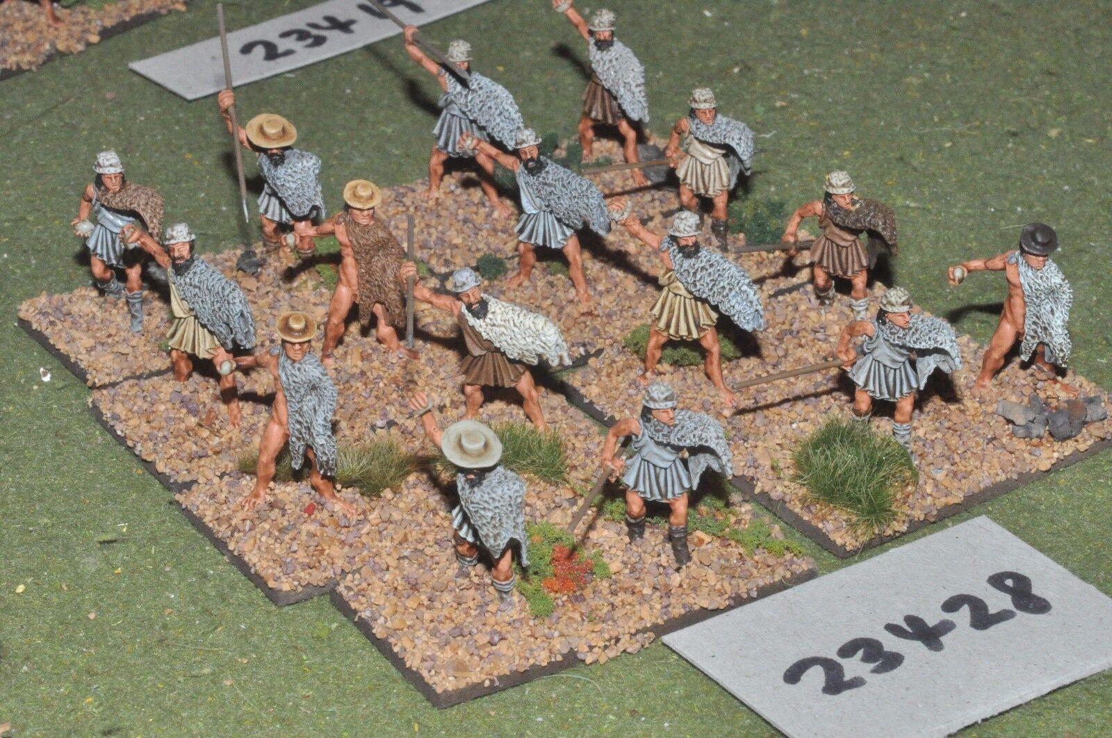 À la fin de l'année, j'ai acheté un grand grand grand groupe et rencontré environ dix mille ménages. 25 mm Classique/grec-Light 16 figures plastique-INF (23428) c8c47c
