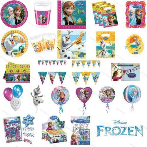 Disney frozen olaf été 20cm assiettes en papier enfants fête vaisselle lot de 8