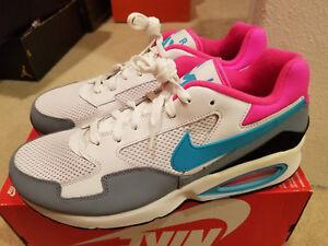 cd0d9fce7f42 New Nike Air Max ST White Grey Hype Rose Model  652976 101 Men s ...