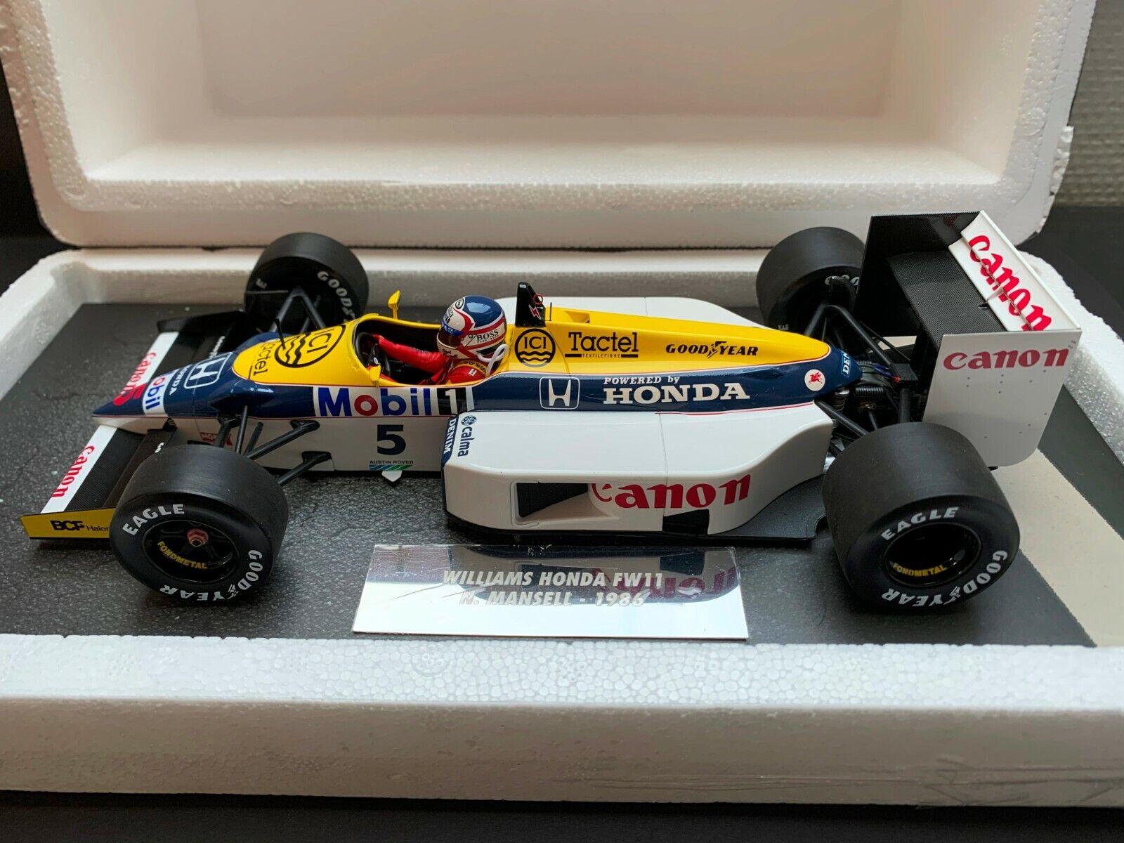 Minichamps - Nigel Mansell  - Williams - FW14B FW14B - 1 18 - 1986