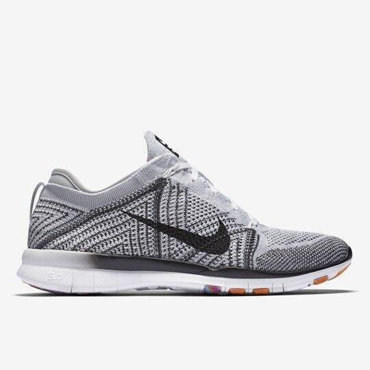 Wmns Nike Free Tr Flyknit Reino Unido 3 3 3 EUR 36 cm 22.5 Oreo Negro blancoo Nuevo 718785 100  gran descuento