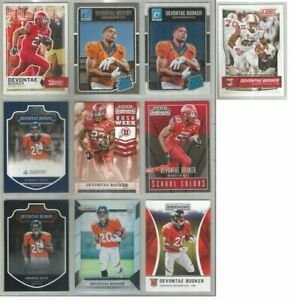 Devontae-Booker-Denver-Broncos-Utah-10-card-2016-RC-lot-all-different