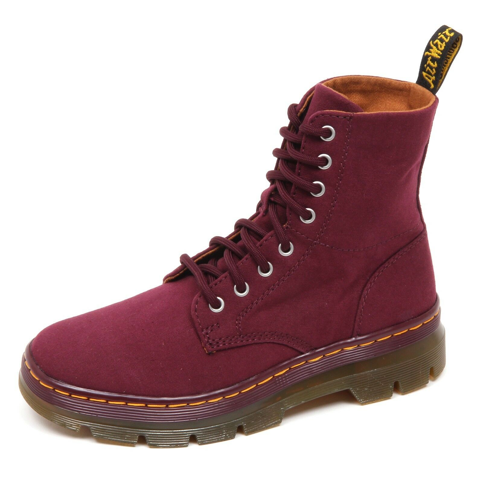Grandes zapatos con descuento D7268 (SAMPLE NOT FOR SALE WITHOUT BOX) anfibio donna canvas DR. MARTENS boot