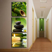 3PCS Modern Canvas Art Oil Painting Wall Pictures for Home Living Room UnFrame