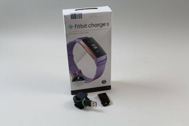 Fitbit Charge 3 lavendel [Special Edition] mit technischen Mängeln