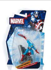 "MARVEL Diorama Estatuilla De Capitán América 2.75"""