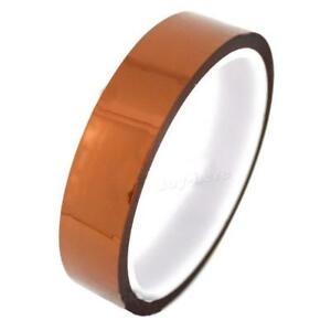 20mm 2cm X 30M 100ft Tape High Temperature Heat Resistant Polyimide ST