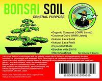 Organic Bonsai Soil Blend (3 Quarts), New, Free Shipping on sale