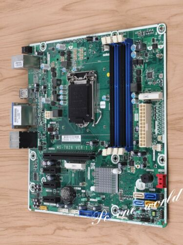 MSI MS-7778 716188-001 Motherboard Socket FM2 DDR3 mATX DVI AMD A75 100/% working