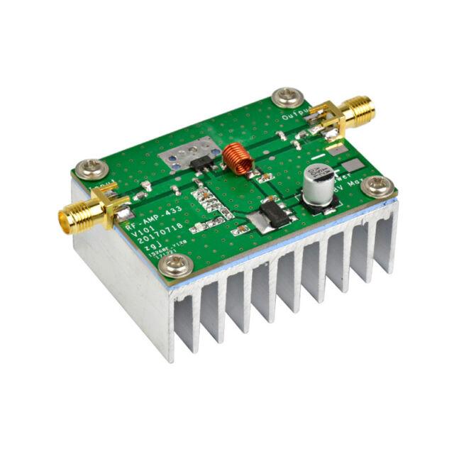 Assembled 433MHz 8W RF High Frequency Power Amplifier Digital Amp Module