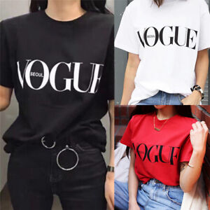 Fashion-Girl-Short-Sleeve-Tops-Clothes-For-Women-Vogue-Letter-Printed-T-shirt-JR