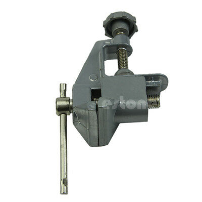 40mm Mini Aluminum  Small Jewelers Hobby Clamp On Table Bench Vise Tool Vice