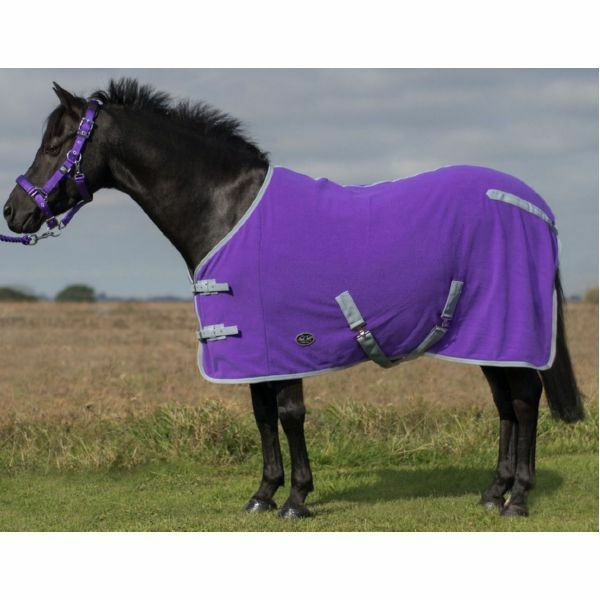 Mark Todd Pony Fleece Rug great for use after exercise &  travelling 4'3  -5'3