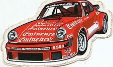 STICKERS ADESIVO AUTO CAR RACING RACE Porsche 911 Carrera EMINENCE ESSO