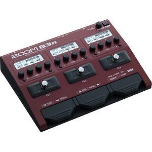 Zoom B3n Multi-processeur D'effets Pour Bassistes-afficher Le Titre D'origine