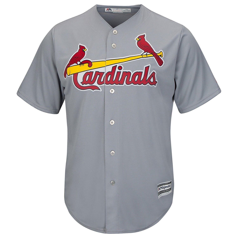 MLB Baseball Trikot St. Louis Cardinals Road grey Cool base Majestic Jersey