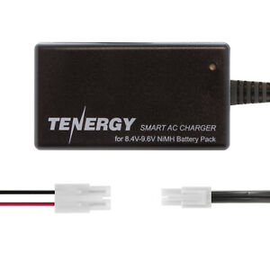 Tenergy-Smart-Charger-for-8-4V-9-6V-NiMH-Airsoft-amp-RC-Battery-Packs-w-Adapter