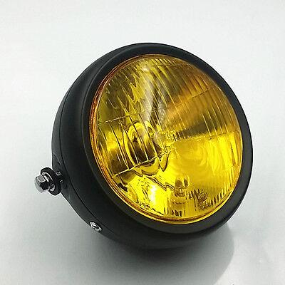 Chrome Bottom Mount Dual Metal Headlight For Harley Honda Triumph Victory Rat