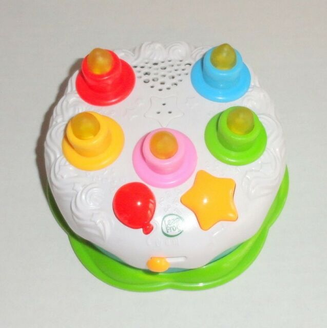 Leap Frog Birthday Cake Light Up Musical Counting Candles Baby