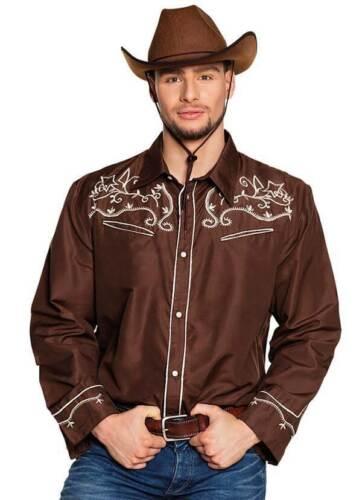 Chemise Cowboy Marron Adulte