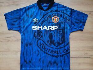 MANCHESTER UNITED! 1992-93! shirt trikot maglia camiseta kit! 5/6 ! M - adult@