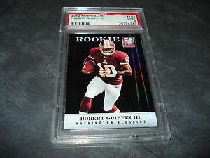 2012-Robert-Griffin-III-Panini-Elite-RC-145-699-PSA-9-Mint-Redskins