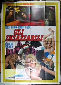 manifesto-4F-film-FEMMINE-INSAZIABILI-Dorothy-Malone-Romina-Power-1969