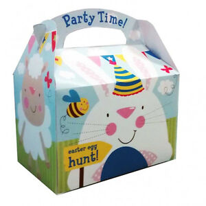 5 x happy easter egg hunt fun party gift loot favour lunch party image is loading 5 x happy easter egg hunt fun party negle Gallery