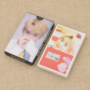 Kpop-NCT-127-WINWIN-Lomo-Card-Member-Poster-Photo-Craft-Fans-Collection-Gift