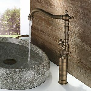 ebay kitchen sink antique brass finish bathroom amp kitchen basin mixer 3514