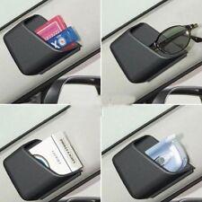 2 X Grey Car Pillar Pocket Holder Box Cigarette Cellphone Sunglasses Holder.