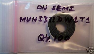 On Semi Dual Bais Resistor Tran MUN5311DW1T1,New,100pcs