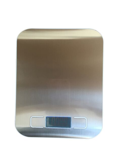 3f7011a7a Stainless Steel Digital LCD Electronic Kitchen Cooking Food Weighing Scales  10kg