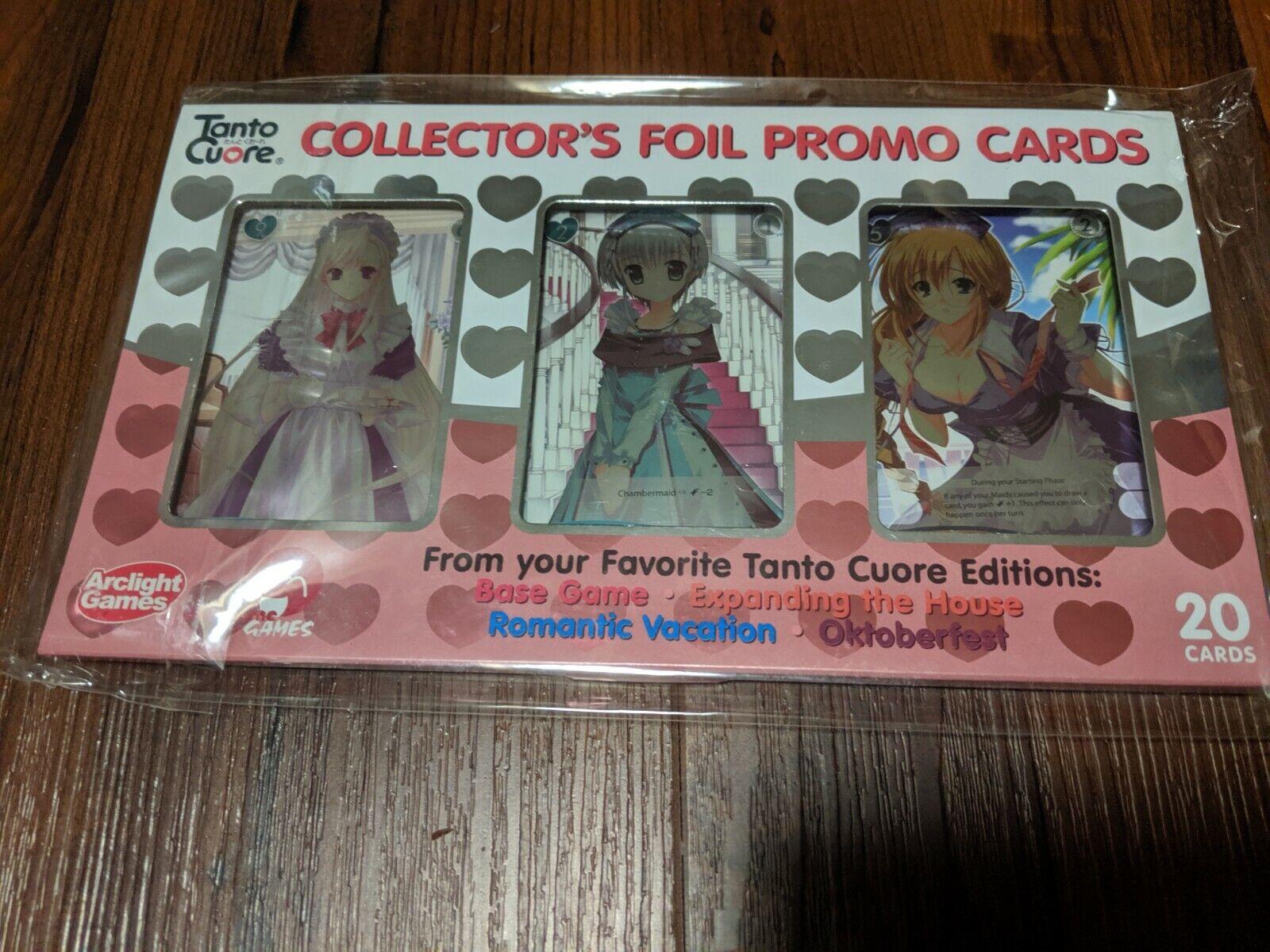Tanto Cuore Collector's Foil Promo Set de cartes pédale de démarrage