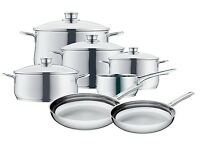 Wmf Diadem Plus 11-piece Cookware Set 18/10 Stainless Steel on sale