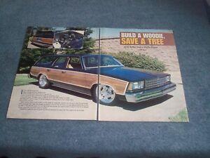 Details about 1978 Chevy Malibu Wagon RestoMod Article